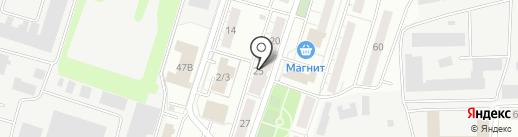 Тополь, ТСЖ на карте Владимира