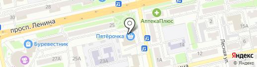 Пятерочка на карте Владимира