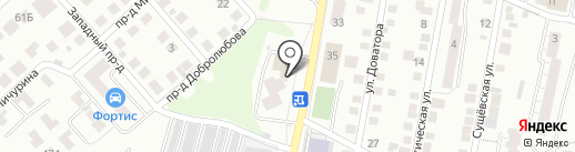 Магазин строительно-отделочных материалов на карте Владимира