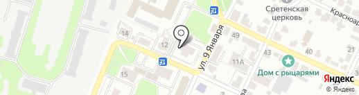 Компания на карте Владимира