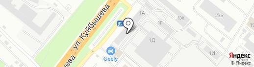 хоббика на карте Владимира