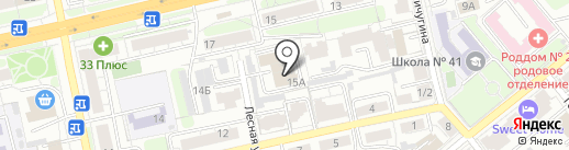 Здравый образ на карте Владимира