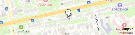 Райм на карте Владимира