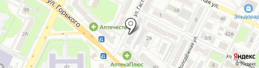 Продуктовый магазин на карте Владимира