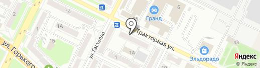 Фабрика модельной обуви на карте Владимира