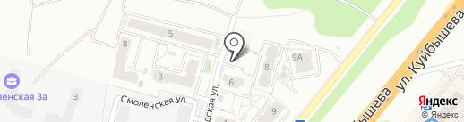 Консоль на карте Владимира