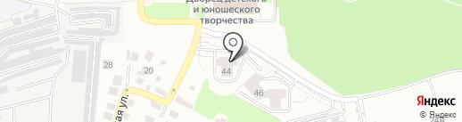 Пушкарское, ТСН на карте Владимира