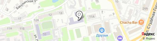 Владимирский институт развития образования им. Л.И. Новиковой на карте Владимира