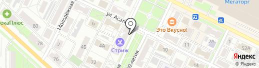 Мясторг на карте Владимира