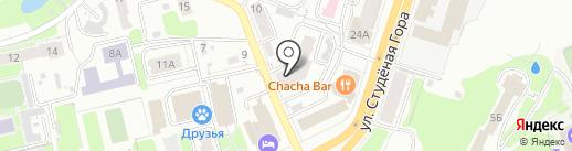 Студеная 34-А, ТСЖ на карте Владимира