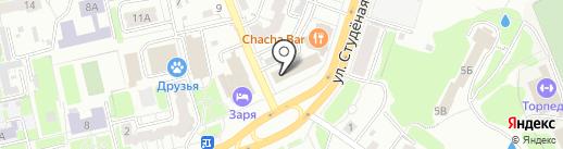 Золотая вилла на карте Владимира