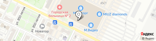 Крошка картошка на карте Владимира