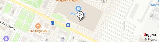 Баклаjan на карте Владимира