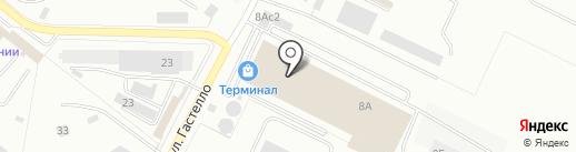 Студия краски на карте Владимира