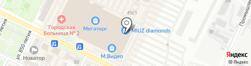 Stradivarius на карте Владимира