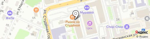 Creative seo на карте Владимира