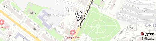 Юнион Индастриалс на карте Владимира