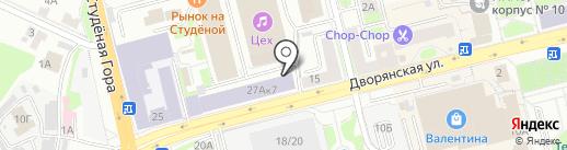 КИТ на карте Владимира