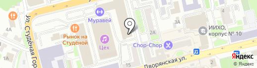 ВЫМПЕЛКОМ на карте Владимира