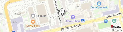 Цветофор на карте Владимира