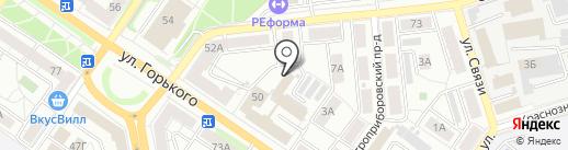 Магазин автозапчастей Geely на карте Владимира