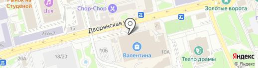 Идеальное платье на карте Владимира