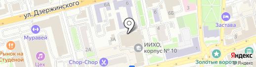АВИ Стандарт Принт на карте Владимира