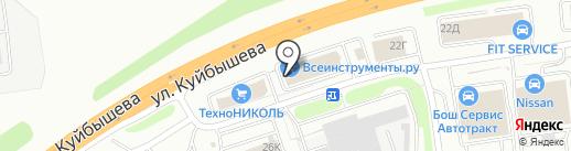 Мир Аккумуляторов на карте Владимира