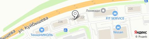 СтройСити на карте Владимира