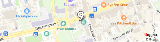 168, ТСЖ на карте Владимира