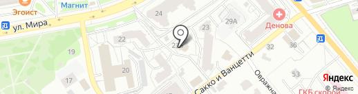 ВТПК на карте Владимира