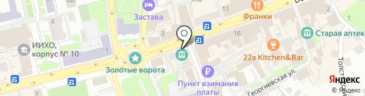 Артель на карте Владимира