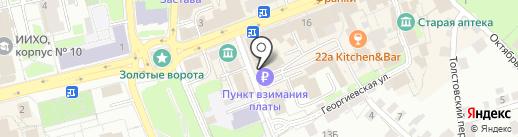 Тату-студия на карте Владимира
