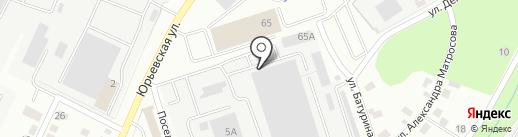 Милана на карте Владимира