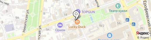 Владимирская Русь на карте Владимира