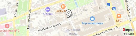 Lash Brow Bar на карте Владимира