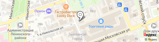 Жига-Бар на карте Владимира