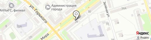 Знак на карте Владимира