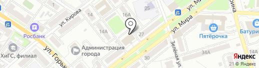 Экономь на карте Владимира