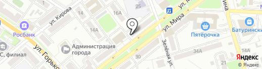 Мебельный магазин на карте Владимира