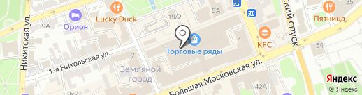 Mobile city на карте Владимира