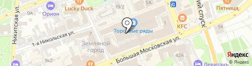 Статус на карте Владимира