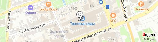 Магия Золота на карте Владимира