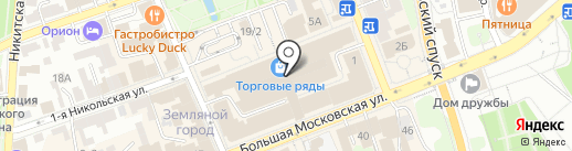 Калина на карте Владимира