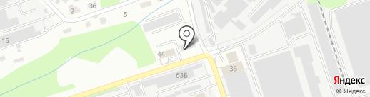 Автомикс на карте Владимира