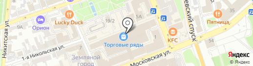 De paris на карте Владимира