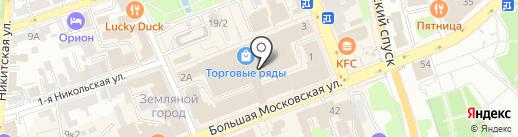 Самоцветы на карте Владимира