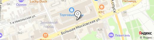 Pitazza на карте Владимира