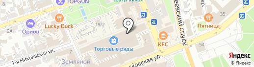 Calvin Klein на карте Владимира