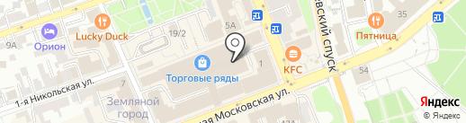 Westgrupp jeans на карте Владимира